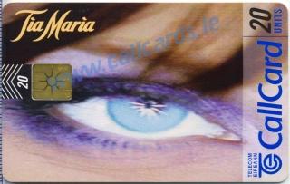 Tia Maria 1997 Callcard (front)