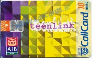 AIB Teenlink Callcard (front)