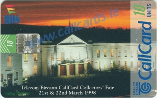 Collectors Fair 1998 Callcard (front)