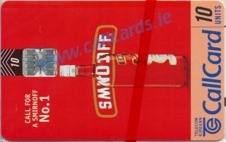 Smirnoff Callcard (front)
