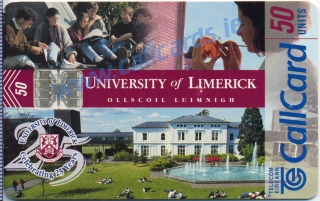 University Of Limerick Callcard (front)