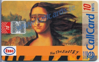 Esso Callcard (front)