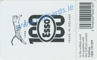 Esso Callcard (back)