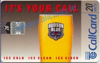 Hudson Blue Callcard (front)