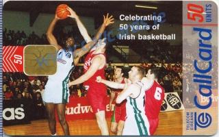 Irish Basketball Callcard (front)