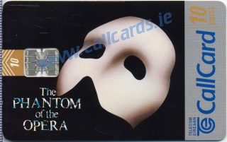 Phantom of The Opera Callcard (front)
