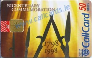 1798 Rebellion Callcard (front)