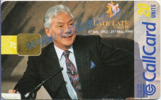 The Late Late Show Callcard (front)