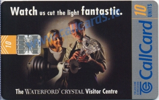 Waterford Crystal Callcard (front)
