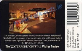 Waterford Crystal Callcard (back)