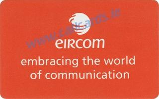 Eircom Logo Callcard (back)