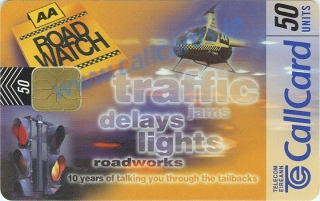 AA Roadwatch Callcard (front)