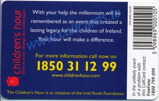 Childrens Hour Callcard (back)