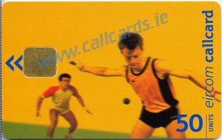 Irish Handball Callcard (front)