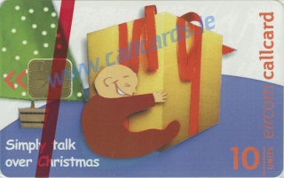 Christmas 1999 Limited Edition Callcard (front)