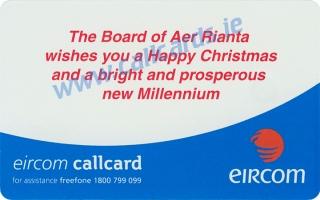 Aer Rianta Callcard (back)