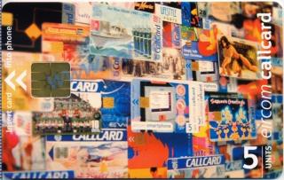 Callcard Collectors Fair 2001 Callcard (front)