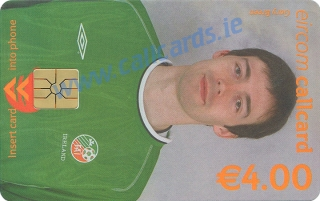 Gary Breen World Cup 2002 Callcard (front)