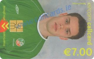 Steve Finnan World Cup 2002 Callcard (front)