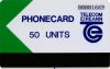 Limerick Trial 50u Callcard (front)