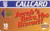Jacobs take the biscuit! Callcard (front)