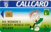 Women's Hockey World Cup Callcard (front)