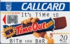Time Out Bar Callcard (front)