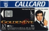 "James Bond ""GoldenEye"" Callcard (front)"