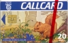 Callcard Collectors Club (Squirrel) Callcard (front)