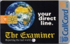 The Examiner 1997 Callcard (front)