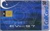 Eurovision 1997 Callcard (front)