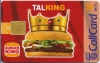 Burger King Callcard (front)