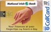 National Irish Bank Callcard (front)