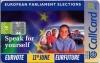 European Parliament Callcard (front)