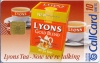 Lyons Tea Callcard (front)