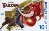 Disney's Tarzan Kantor & Turk Callcard (front)