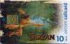 Disney's Tarzan Swinging Limited Edition Callcard (front)