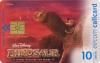 Disney's Dinosaur Callcard (front)