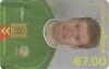 Steve Staunton World Cup 2002 Callcard (front)